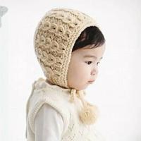 可爱宝宝棒针护耳帽编织视频教程