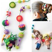 设计巧妙的一物多用手工编织装饰物