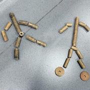 传统竹节人玩具在家自己做  跟着小学六年级课文来做道具