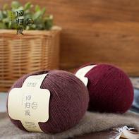 回归线【惜暖】100%貉绒 毛线细线手工编织冬季保暖毛衣围巾线