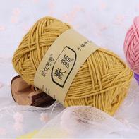 织女秀秀 默颜手编棉毛线 棒针围巾线粗毛线外套线