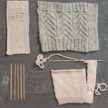 非常有型的棒针毛衣双层门襟编织法
