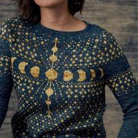 日月星辰 手编毛衣星系主题提花图案