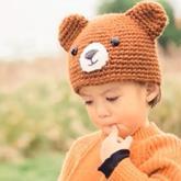 小熊帽子 男女冬季保暖帽编织视频教程