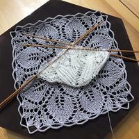 孔斯特蕾丝 精美手工编织棒针蕾丝小花样