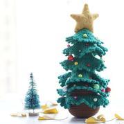 毛线188BET金宝搏创意圣诞树 钩针188BET金宝搏视频教程