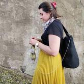 发誓不再碰针线的她,十多年后转身成为专业编织设计师