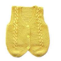 棒针款宝宝马甲(2-1)儿童毛衣编织视频
