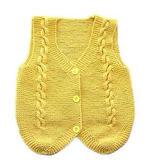 棒针款宝宝马甲(2-2)儿童毛衣编织视频