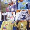 男孩女孩棒针卡通图案毛衣与开衫6款