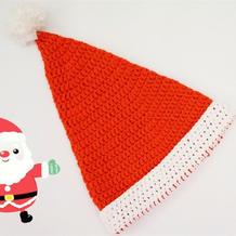 毛线编织圣诞帽子 新手学钩针零基础视频教程