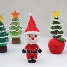 平安果(3-1)圣诞主题系列编织视频教程