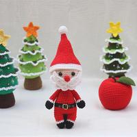 圣诞树(3-2)圣诞主题系列编织视频教程
