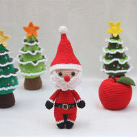 圣诞老人(3-3)圣诞主题系列编织视频教程