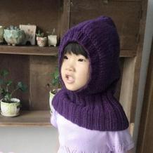 儿童创意萌帽 棒针编织连围脖帽子教程