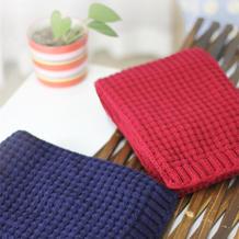 十字花围巾 适合新手编织的围巾花样编织视频教程