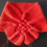 棒针吉祥中国结围脖编织教程
