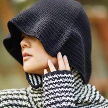 仿潘家的女士钩针渔夫帽