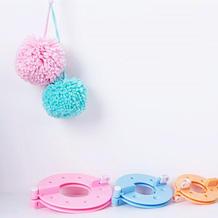 如何DIY绒球 绒球器制球器毛球器使用方法