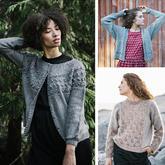 北欧风女士棒针毛衣23款 欧美编织杂志欣赏