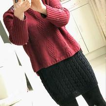 简单好织时尚女士棒针麻花包臀裙