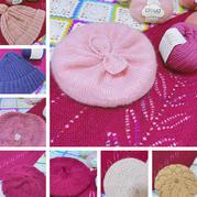 时髦经典毛线帽8款 贝雷帽球球帽画家帽各种毛线帽