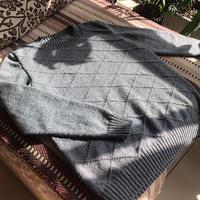 儒雅男士棒针山羊绒毛衣,送给亲爱的老爸
