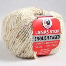 LANAS STOP ENGLISH TWEED英格兰粗花呢 西班牙彩点羊毛外套毛衣围巾线