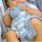 儿童毯创意钩针婴幼儿安抚巾