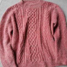 经典花样女士棒针羊绒马海毛衣