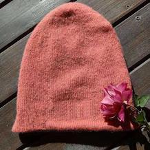 简单实用棒针双层帽子编织说明