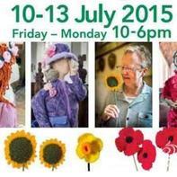 英国7月将在六个村庄进行针织和花节