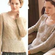 春款女士棒針真絲馬海羊毛低圓領套頭加拿大六合彩注冊平台2款