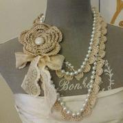 美麗加法 因編織而與眾不同的鉤珠結合項飾