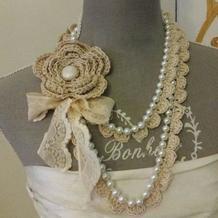 美丽加法 因编织而与众不同的钩珠结合项饰