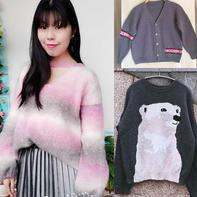 202106期周热门编织作品:女士儿童棒针编织毛衣10款