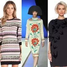 2015秋季毛衣裙款式推荐