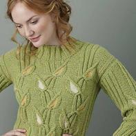 梭织与针织有趣结合为创意编织提供思路