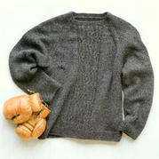经典男士棒针插肩羊毛衫编织图解
