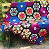 弗�Y�_身边的花朵毯子 �^�拼花毯��教程合集