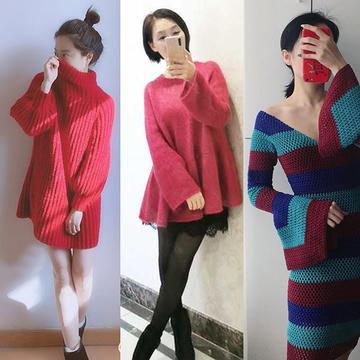 202109期周热门编织作品:精彩纷呈女士男士儿童手编毛衣18款