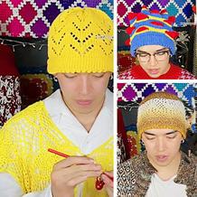 无檐针织帽编织规律 掌握技巧所有花型都能任意改变