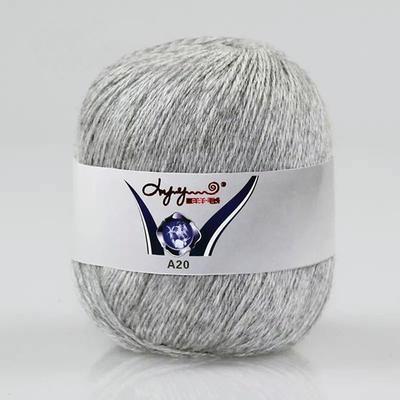 喜洋洋A20手编羊绒 手工编织毛线羊绒羊毛中细毛线