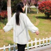 非常容易编织的女士钩针六边形开衫外套编织视频教程