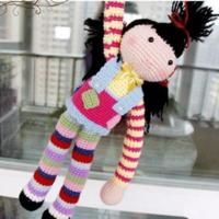 六一儿童节礼物 钩针娃娃图解翻译教程