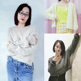 202111期周热门编织作品:春款女士儿童手编服饰12款
