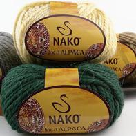 Nako Inca ALPACA 土耳其阿尔帕卡羊驼毛 手编线粗棒针外套毛线