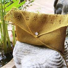 1小时轻松完成的机织金色蕾零钱手机随手包
