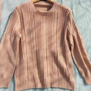艾格 细针细线精织男士棒针羊绒毛衣
