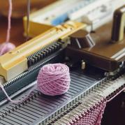 家用编织机机织单层双层领的密度技巧